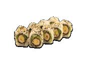 72. Uramaki crunchy laks