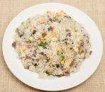 89. Stegte ris m. oksekød